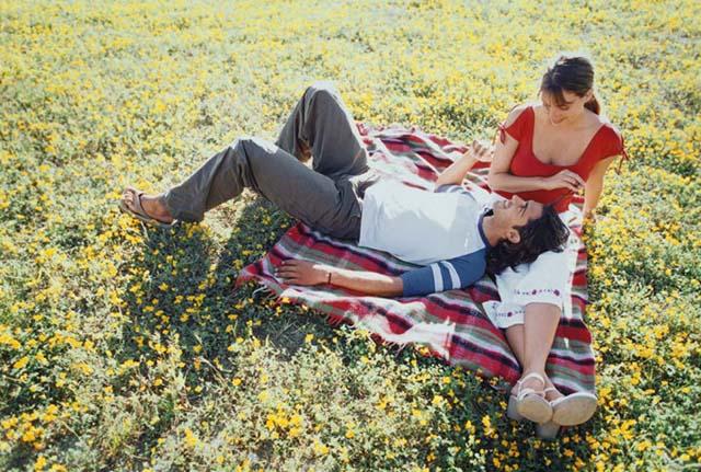 Outside picnic