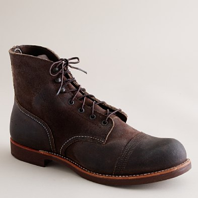 Red Wing (via J.Crew) Iron Ranger in Dark Brown
