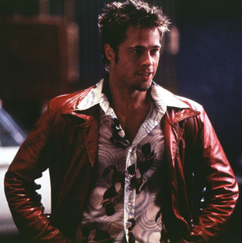 there: stop thinking Brad Pitt's Tyler Durden character from Fight Club