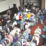 used-clothing-sale-during